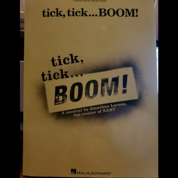 Tick Tick Boom Vocal/Musical Selections
